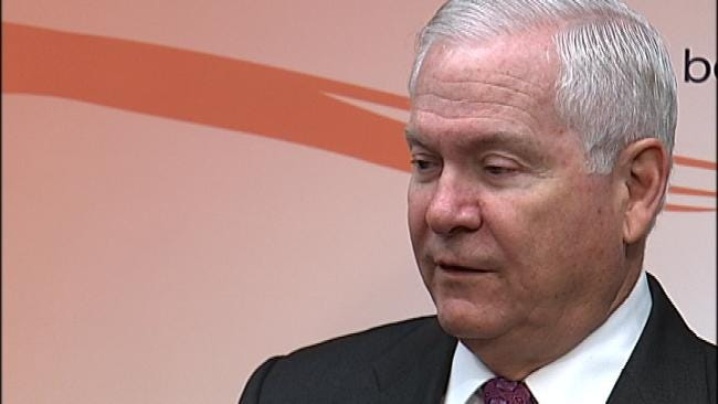 Former U.S. Secretary Of Defense Speaks To OSU Tulsa Students