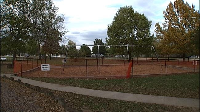 Two Tulsa Playgrounds Partially Closed Due To Possibly Tainted Mulch