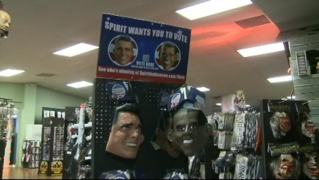 Halloween Costume Chain Uses Mask Sales To Predict Presidential Election