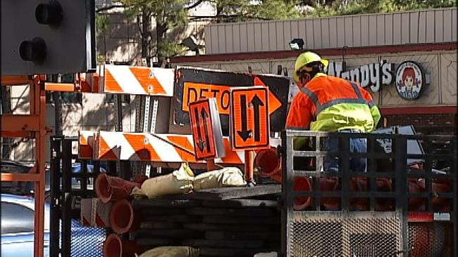 Sewer Repairs To Cause Delays Near Utica Square, St. John