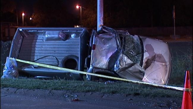 Tulsa Woman Killed In Rollover Wreck