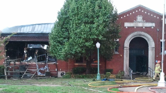 Historic Tulsa School Building Destroyed By Fire To Be Demolished