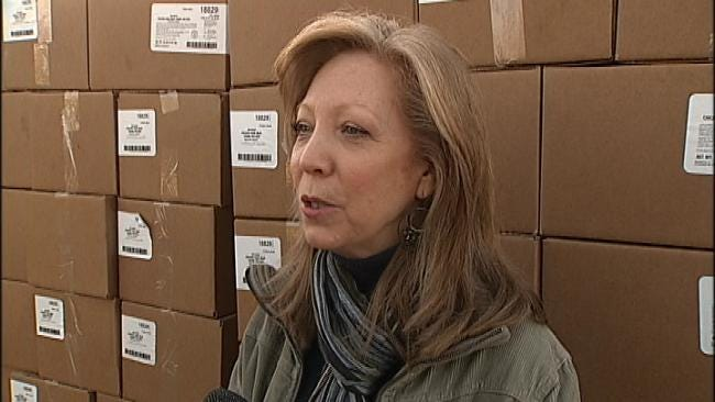 Oklahoma Food Pantries Receive Huge Donation Of Frozen Food