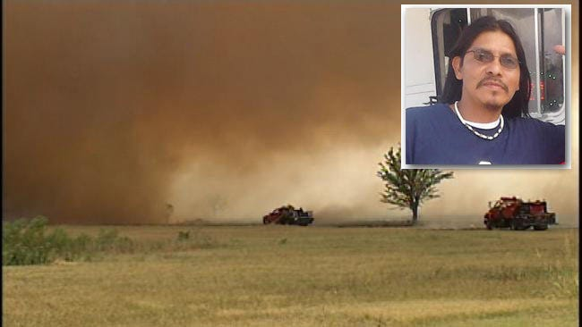 Bristow Man Charged With Arson In Tragic Creek County Wildfires
