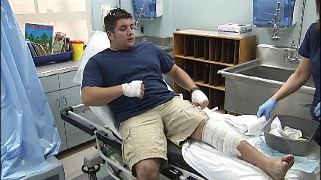 Inside Burn Unit With Tulsa Firefighters Injured In School Explosion