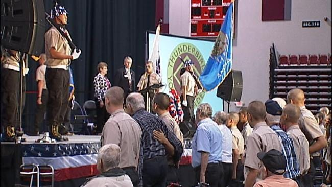 Oklahoma WWII Veterans Get Big Send-Off Before Special Trip To Washington, DC