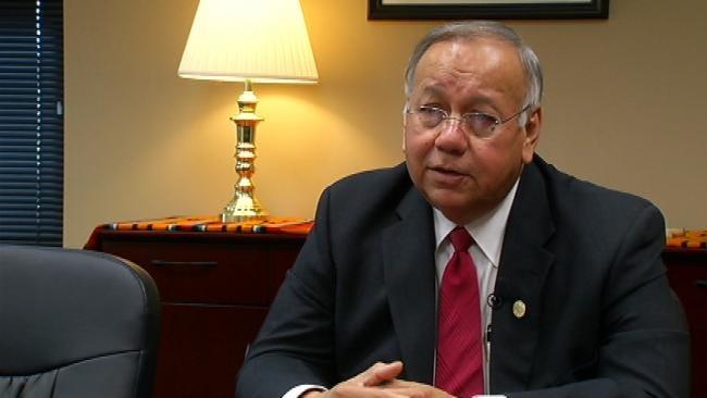 Tulsa, Jenks, Tribal Leaders Make `Handshake` Deal On Dam Project