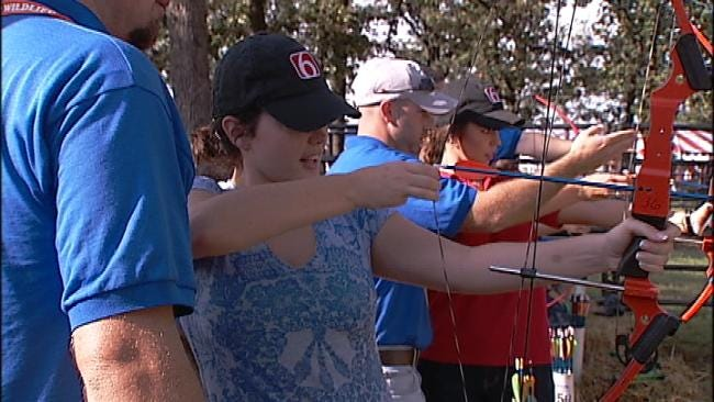 News On 6's Own Compete In Oklahoma Wildlife Expo
