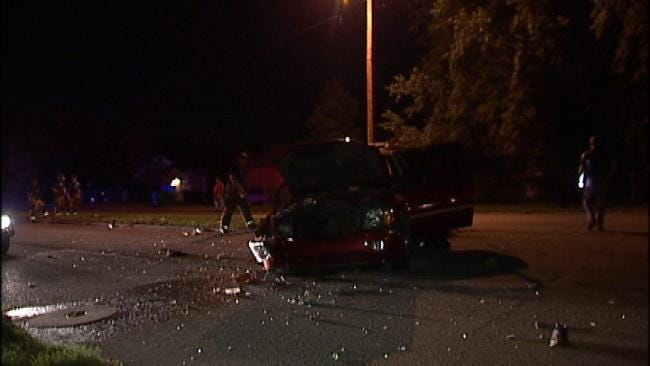 Driver Flees After Tulsa High Speed Chase