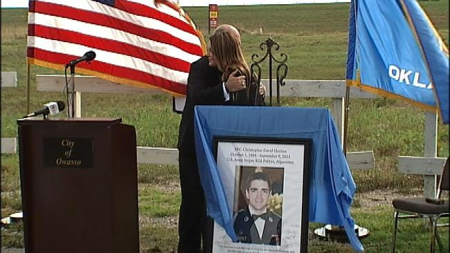 Stretch Of Highway 169 Dedicated In Honor Of Fallen Collinsville Soldier