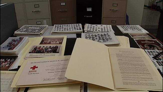 Tulsa Historical Society Prepares Exhibit Of Items From Burned School Building