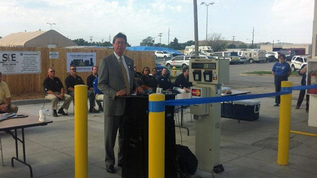 City Opens New Public CNG Fueling Station In West Tulsa