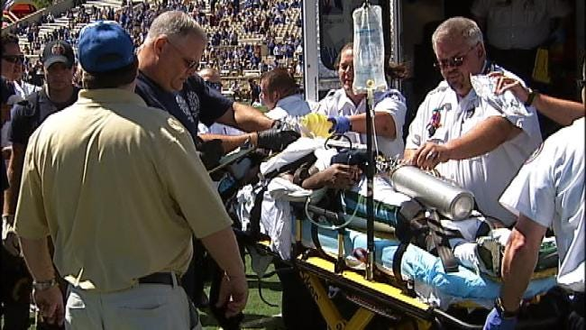 Hospital: Tulane Football Player Critical After Injury In Tulsa Game