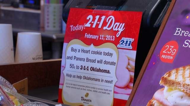 Tulsa Businesses Recognize 2-1-1 Day With Donations To Helpline