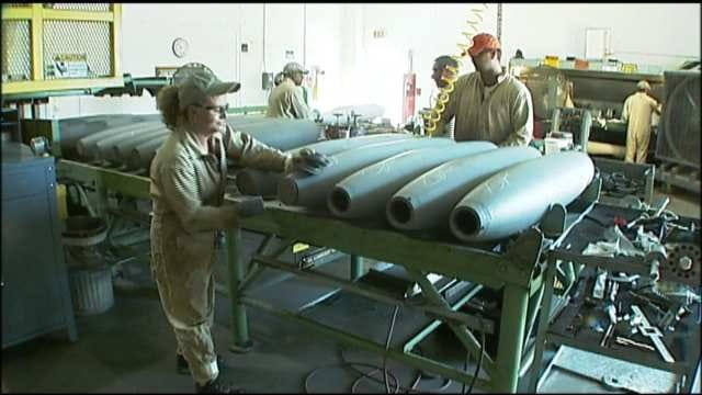 Automatic Federal Budget Cuts To Impact McAlester Army Ammunition Plant
