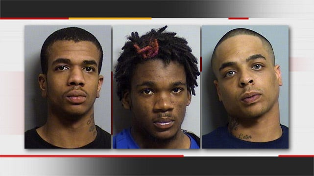 Three Tulsa Men Arrested For Armed Robbery, Stealing Tattoo Kit