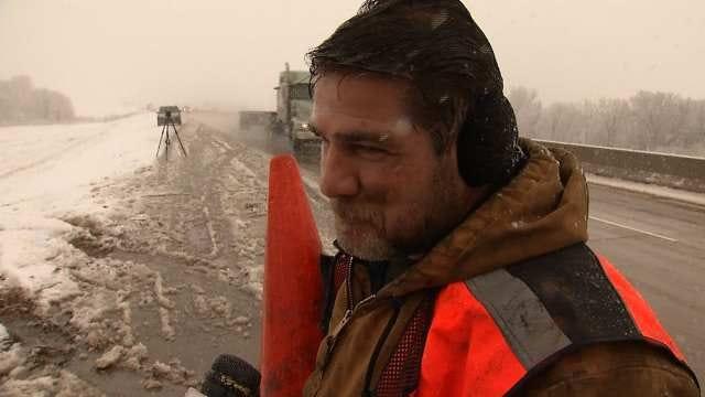 Snow Makes Travel Hazardous In Parts Of Eastern Oklahoma