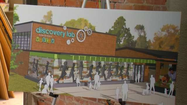 Work Begins On Tulsa Children's Museum Discovery Lab