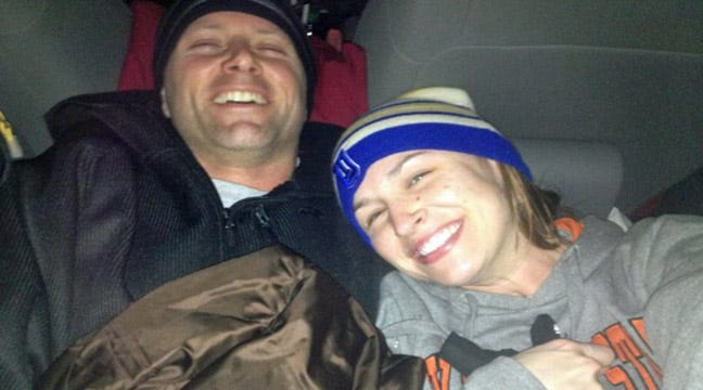 Tulsa Couple Describes Being Stuck On I-40 In Blizzard