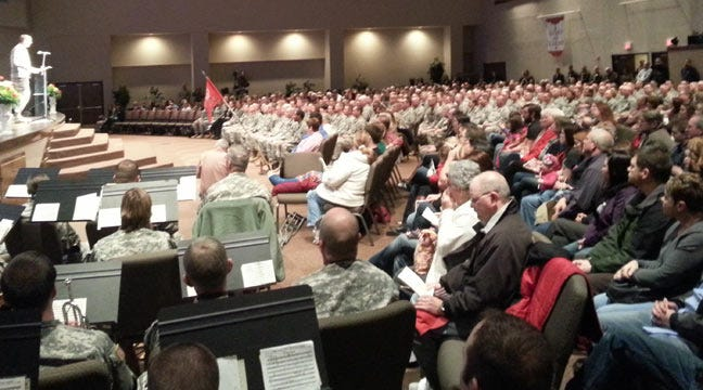 Families Say Goodbye As Oklahoma Soldiers Deploy To Afghanistan