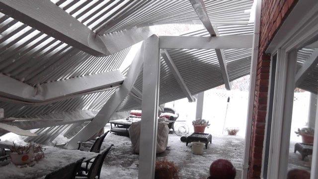 Winter Storm Brings Snow To Northeastern Oklahoma