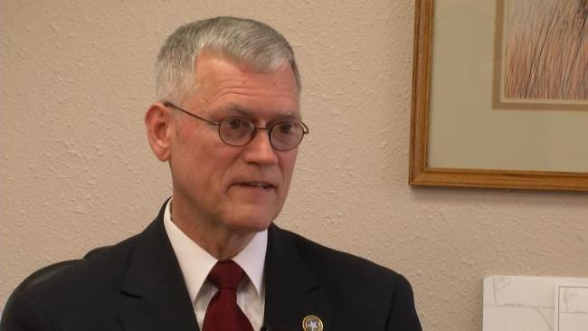 Senator Cites McAlester As Model For Fixing Federal Financial Mess