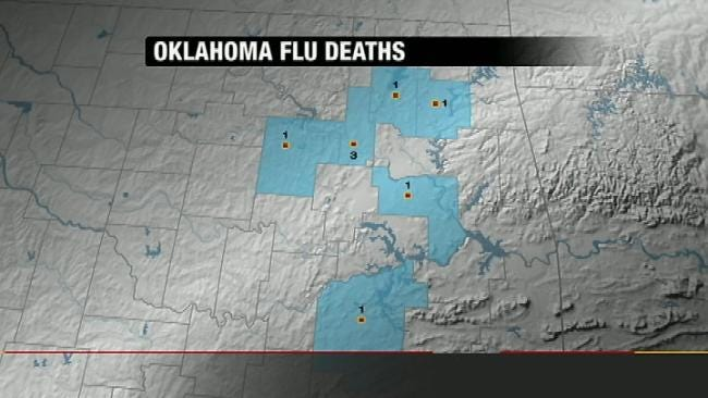 6 New Flu Deaths Reported In Oklahoma