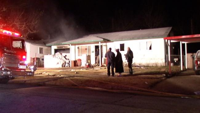 No One Injured In Sapulpa House Fire