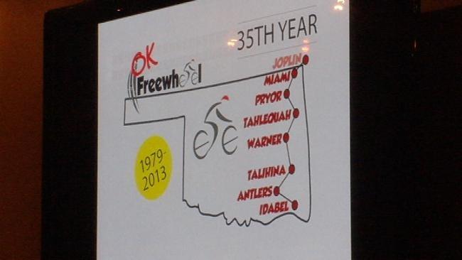 Organizers Reveal Oklahoma FreeWheel 2013 Route