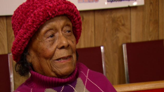 96-Year-Old Taft Woman Celebrated By Community