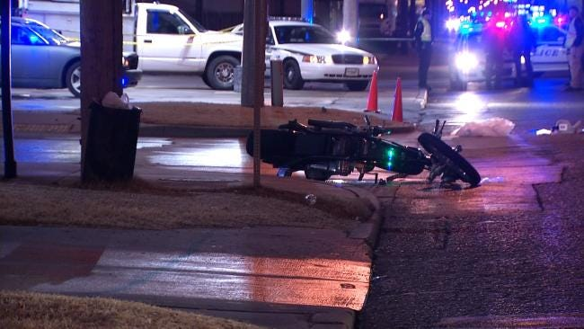 Tulsa Police Identify Motorcyclist Killed In Wreck At 41st And Peoria