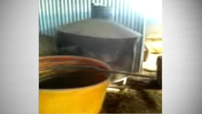 ABLE Commission Dismantles Giant Moonshine Still Found In Choctaw County