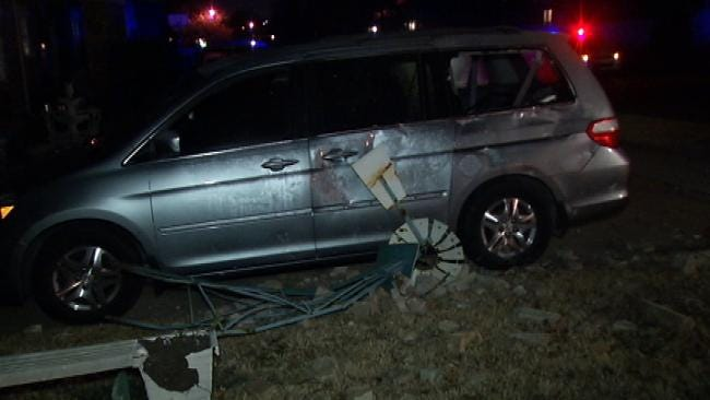 Tulsa Police: Drivers Under The Influence Cause 2 Crashes