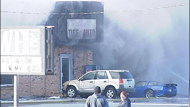 Fire Heavily Damages Multiple Businesses In Owasso