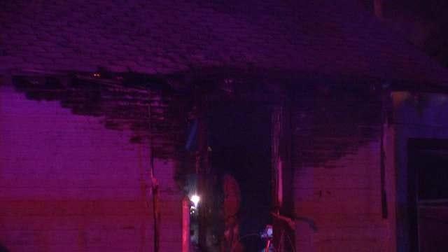 Tulsa Police Officer Spots House Fire