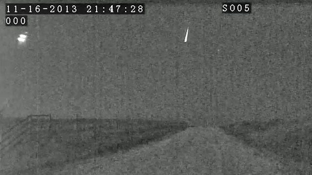 Comets Cause Spectacular Sight In Oklahoma Sky