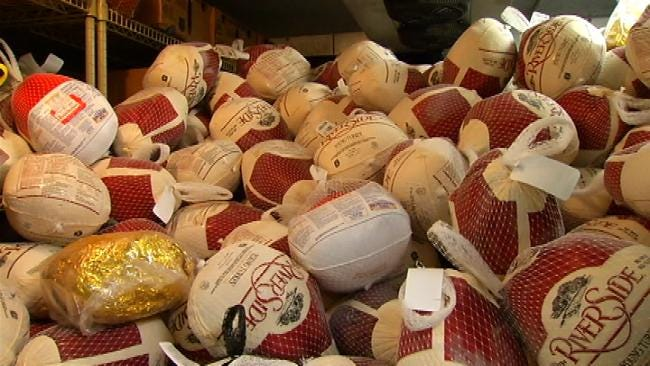 Tulsa's John 3:16 Mission Short On Turkey Donations For Thanksgiving