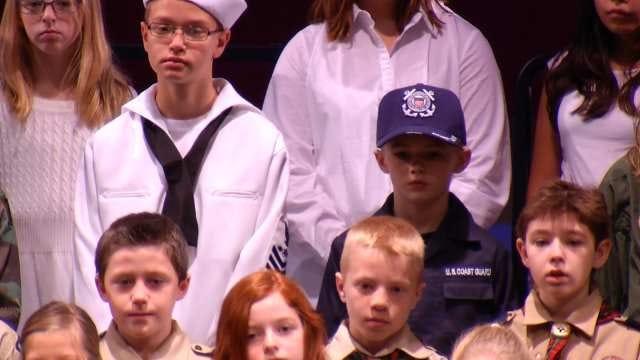 Owasso Elementary School Honors Veterans At Annual Program