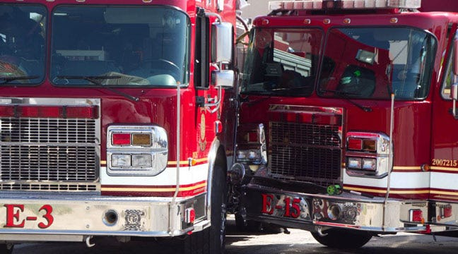 2 Firefighters Demoted After 2 Fire Trucks Collided In Downtown Tulsa