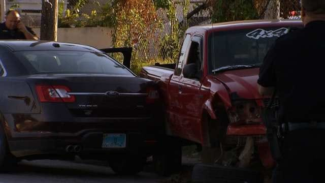 Police: Child In Critical Condition After Crash In Tulsa