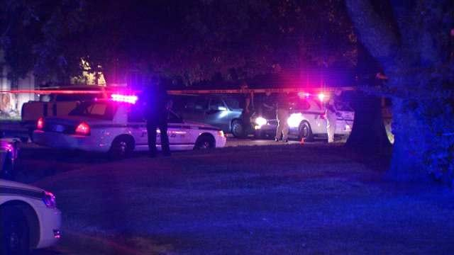 Tulsa Police Officer Shoots At Driver Who Rammed His Patrol Car