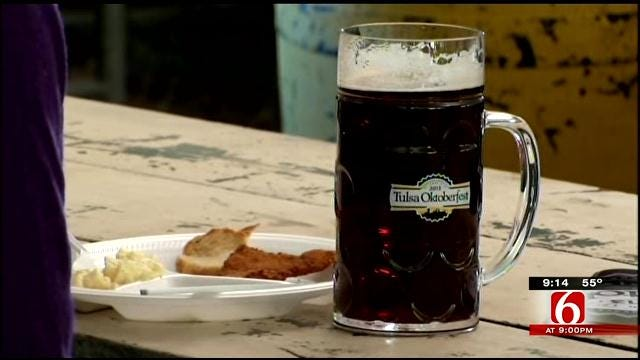 Police Applaud Beer Container Change At Tulsa's Oktoberfest