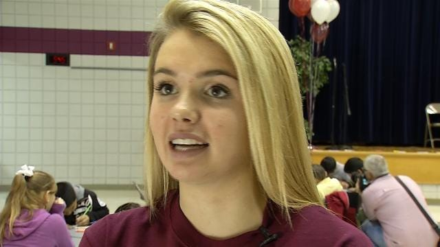 Union High Student's Gift-Giving Cause Bigger Than Ever