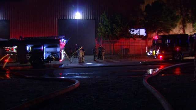 Investigators Suspect Chemical Reaction Sparked Tulsa Recycling Plant Fire