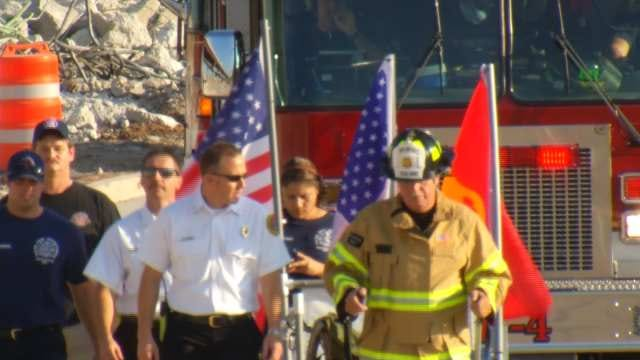 Marine Veteran Honors Firefighters Who Died On 9/11 With 343-Mile Walk