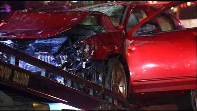Police: Drug Paraphernalia Found In Car After Wrong-Way Crash On BA Expressway