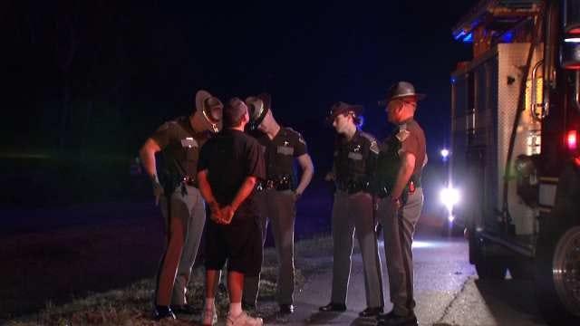Driver Arrested For DUI After Crash On I-44 In East Tulsa