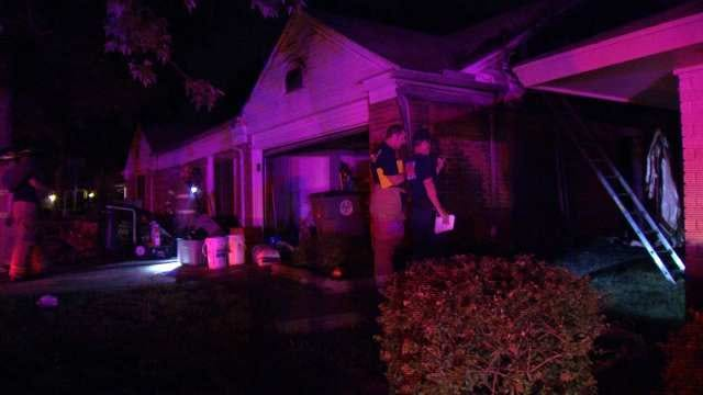Tulsa Firefighters Contain House Fire Friday Morning