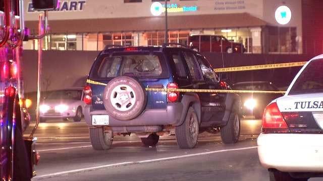 Tulsa Police: Road Rage Leads To Chase, Shooting, Crash