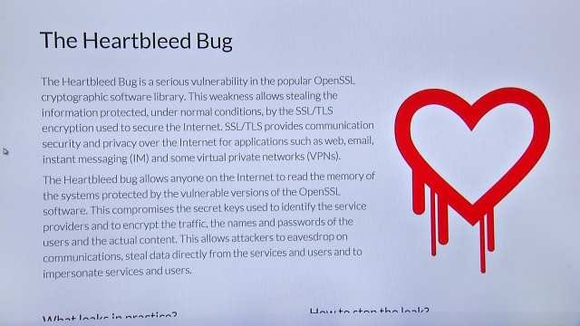 Heartbleed Bug Putting Oklahomans' Online Information At Risk